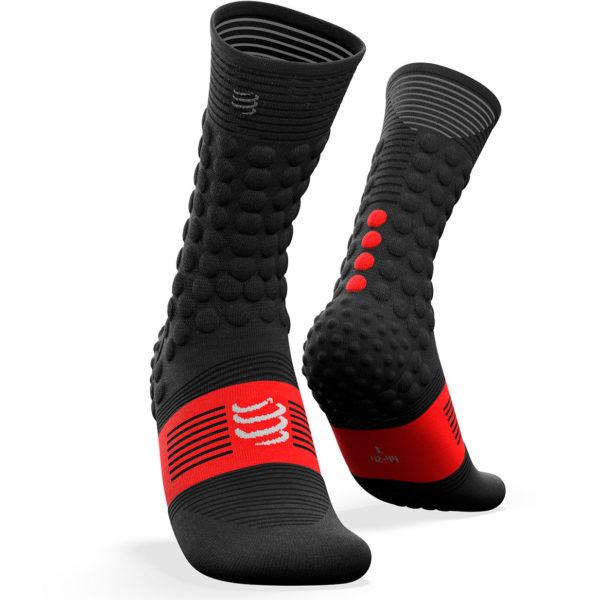 Носки компрессионные Compressport Pro Racing Socks V3.0. Winter Bike, Smpl