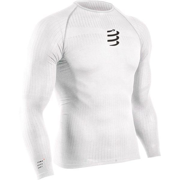 Кофта с длинным рукавом Compressport 3D Thermo Shirt LS, 50 gr, SS2020