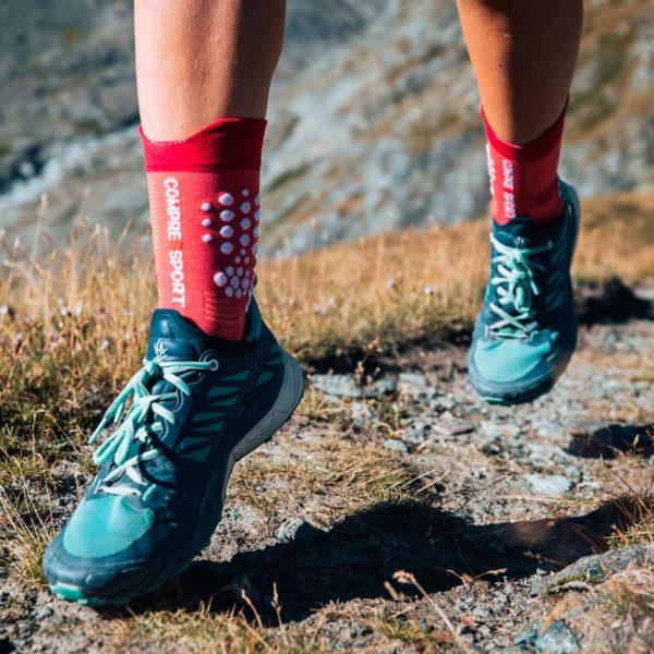 Носки компрессионные Compressport Pro Racing Socks V3.0. Trail, SS2021
