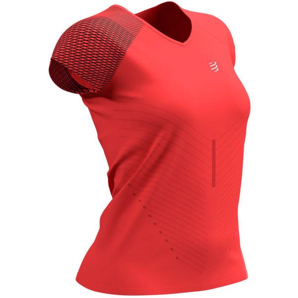 Футболка женская Compressport Performance SS Tshirt, SS2021