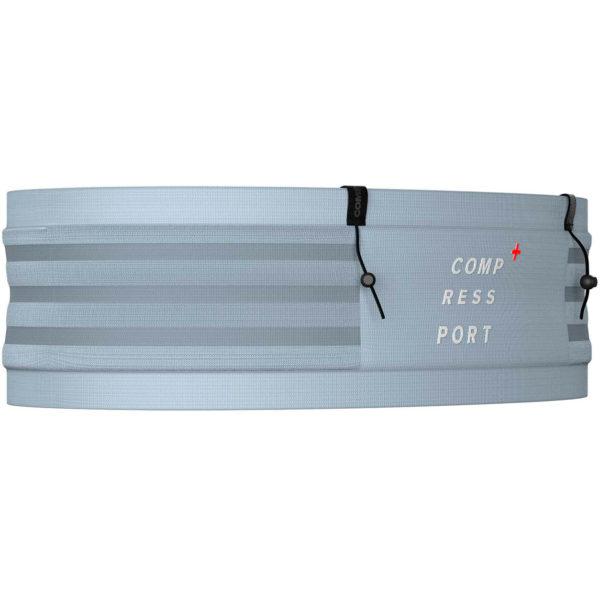 Пояс Compressport Free Belt Pro, Trade Wind/White