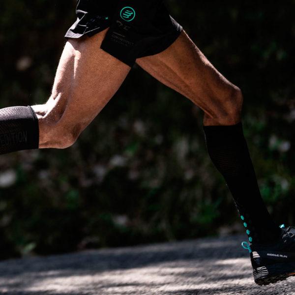 Гольфи Compressport Full Socks Oxygen - Black Edition 2021, Black
