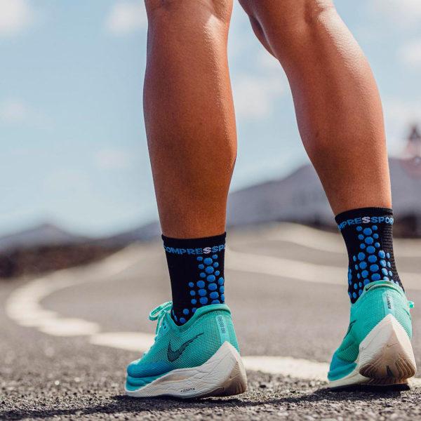 Носки компрессионные Compressport Pro Racing Socks V3.0 Run High - Born To SwimBikeRun 2021