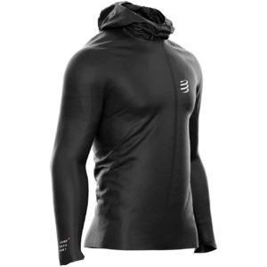 Куртка Compressport Hurricane Waterproof 10/10 Jacket, Black