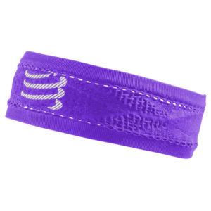 Пов'язка Compressport Headband Thin On/Off, Fluo Violet (Old)