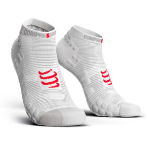 Шкарпетки компресійні Compressport Pro Racing Socks V3.0 Run Low, White