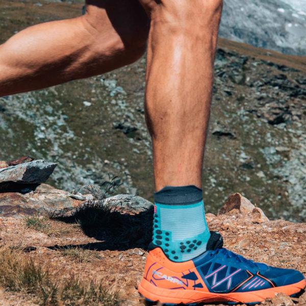 Шкарпетки компресійні Compressport Pro Racing Socks V3.0 Trail, Nile Blue