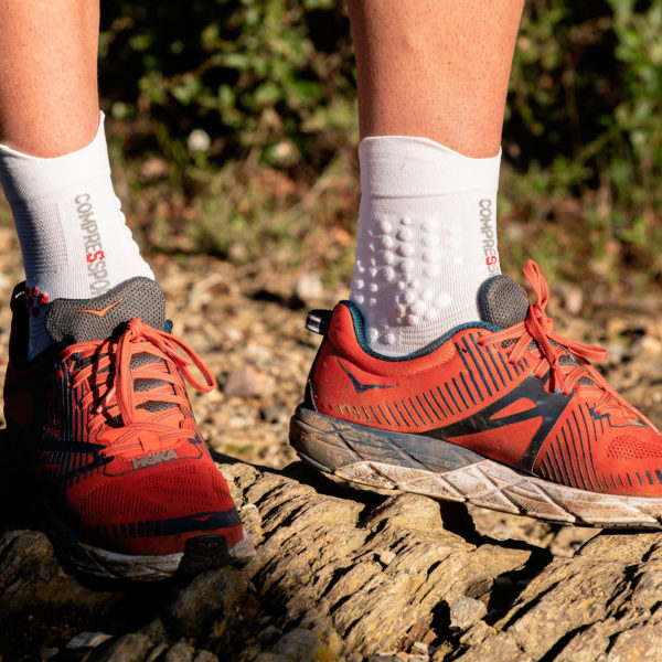Шкарпетки компресійні Compressport Pro Racing Socks V3.0 Trail, Smart White