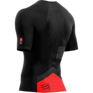 Футболка Compressport Triathlon Postural Aero SS Top, Black