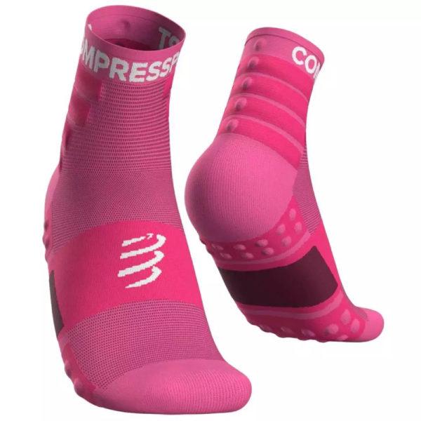 Шкарпетки компресійні Compressport Training Socks 2-Pack, Pink
