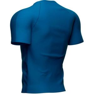 Футболка Compressport Training SS Tshirt, Blue Lolite