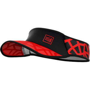 Козирьок Compressport Spiderweb Visor Ultralight, Red/Black