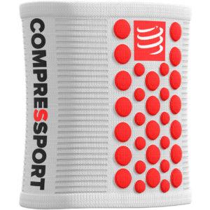 Напульсник Compressport Sweatbands 3D.Dots, White/Red
