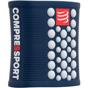 Напульсник Compressport Sweatbands 3D.Dots, Blue/White