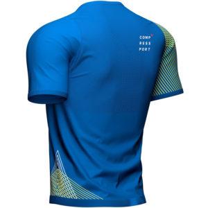 Футболка Compressport Performance SS Tshirt M, Blue Lolite