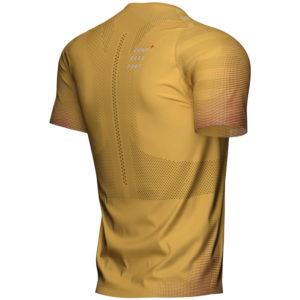 Футболка Compressport Racing SS Tshirt M, Honey Gold