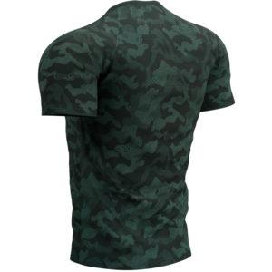 Футболка Compressport Training SS Tshirt M Camo Premium, Green Gables