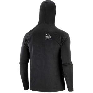 Худі Compressport 3D Thermo Seamless Hoodie Zip - Black Edition 2020, Black