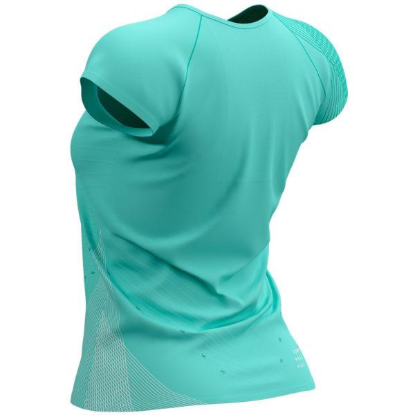 Футболка жіноча Compressport Performance SS Tshirt W - Summer Refresh 2021, Bird's Egg green
