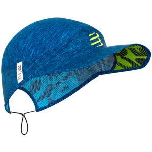 Картуз Compressport Pro Racing Cap, Blue Melange