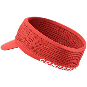 Пов'язка з козирьком Compressport Spiderweb Headband On/Off, Coral