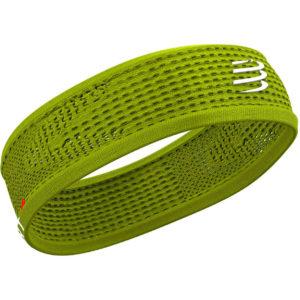 Пов'язка Compressport Headband Thin On/Off, Lime