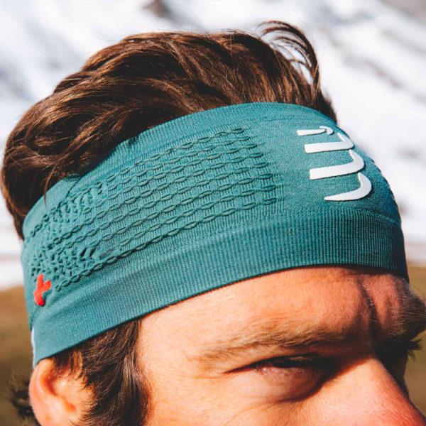 Пов'язка Compressport Headband On/Off, Silver Pine